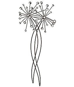 Beaded Allium Stem Wall Art : Gardman from Gardman