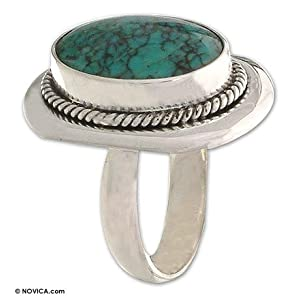 Ring, 'Turquoise Intrigue' 8.5 (US Ring size)