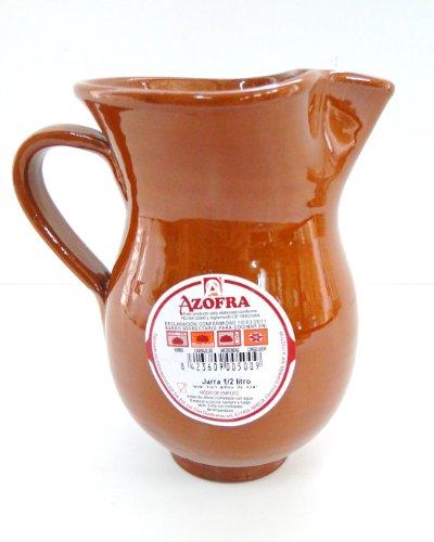 Pichet Sangria terre cuite Espagne 1/2 litre Lave vaiselle Congelateur