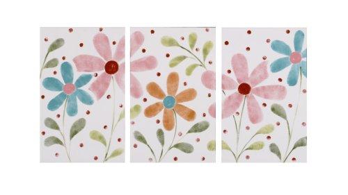 Cotton Tale Designs Lizzie Wall Art, 3-Piece