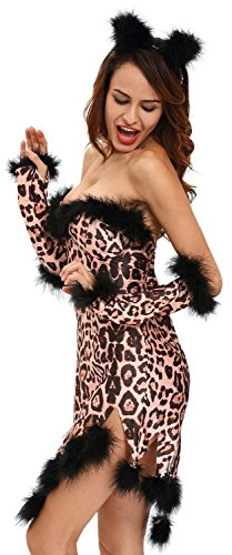 [Anmengte Halloween Masquerade Party Cosplay Costume Cute Animals (M, LC8994-20)] (Sexiest Halloween Costumes Galleries)
