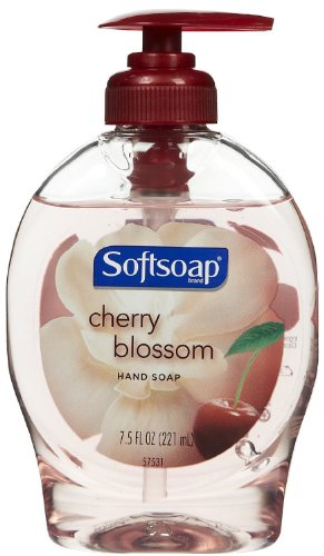 softsoap-hand-soap-cherry-blossom-scent-75-oz-pump-bottle-pack-of-6-by-softsoap