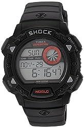 Timex Shock Digital Grey Dial Mens Watch - T49977