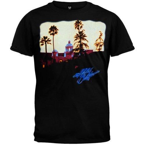 Old Glory - The Eagles - Uomo Hotel California T-shirt 2X-Large Nero
