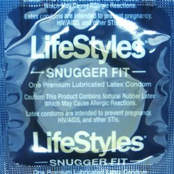 Lifestyles Snugger Fit Condoms- 250Pk
