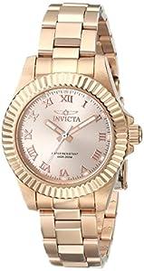 Invicta Men's 16763SYB Pro Diver Analog Display Quartz Rose Gold Watch