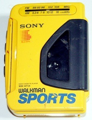 Sony Radio Cassette Player Walkman Sports Wm-Af54