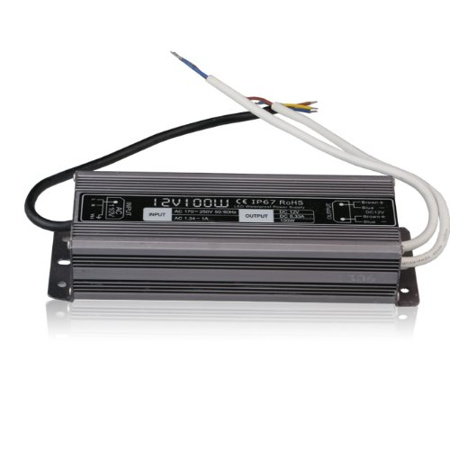 Le Power Adaptor For Led Module, 12V, 8.33A, Waterproof