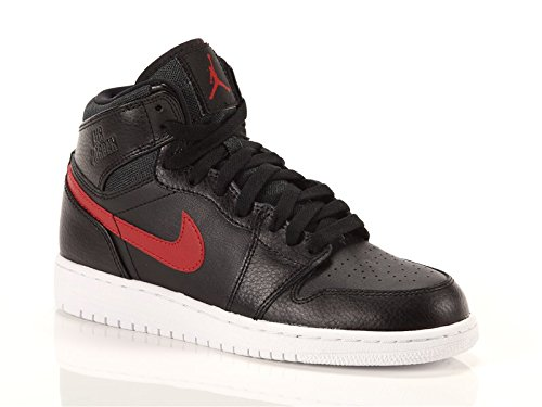Nike Bambino Air Jordan 1 Retro High BG scarpe da basket multicolore Size: 38 1/2