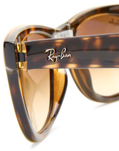 ray ban folding wayfarer 7nq3  ray ban 4105 folding wayfarer 50mm tortoise