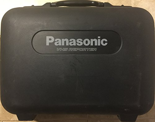 Panasonic VHS Reporter AG-188 Movie Camera (Panasonic Vhs Camcorder compare prices)