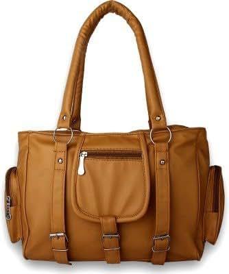 Glory Fashion Women's Stylish Handbag Mustard-AK-005