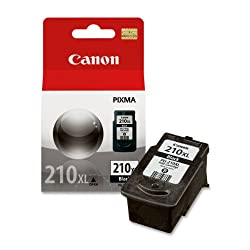 Canon PG-210XL Cartridge,Retail Packaging- Black