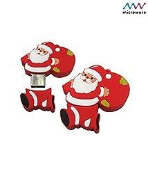 Microware 16GB Santa Claus With Gift Bag ShMicroware Designer Pen Drive