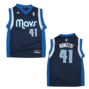 NBA DALLAS MAVERICKS NOWITZKI #41 Youth Pro Quality Athletic Jersey Top by NBA