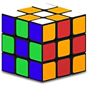 Magic Cube , E LV Multicolor High Quality Magic Cube 3x3x3 Educational Toy, 3D Puzzle, Memory Game For Adults...