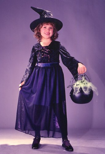 Storybook Witch Velvet Child Costume (Large)