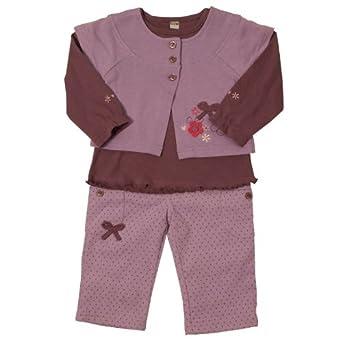 Dizzy Daisy Girls Lilac Spot Top/ Jacket/ Trouser Lilac/ Plum,18-24 months