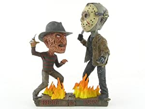 Freddy VS Jason Bobble heads résine