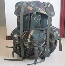 I Am a Commando Hunter Digital Camouflage Tactics Shoulders Large Capacity Backpack Backpack Outdoor Mountaineering Tourism Tactics