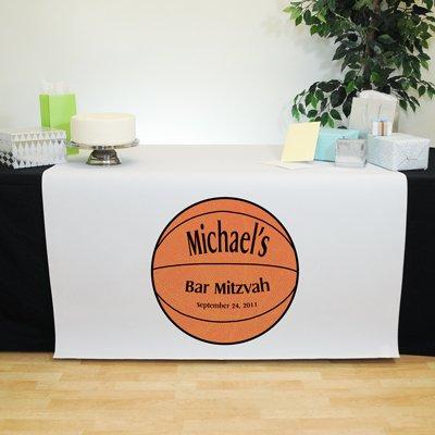 Bar Mitzvah Basketball Themed Table Runner