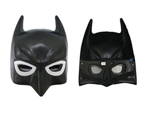 Black Fashion Halloween Carnival Mask Dress Batman Super Cool - 1