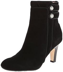 Taryn Rose Women's Taytum Boot,Black,5.5 M US