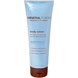 Mineral Fusion Natural Brands Mineral Body Lotion, Unscented, 8oz