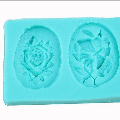 LWW Lace Gumpaste Mat Baking Tools High Temperature Resistant Silicone Brush Bake Scraper 25cm Pink Suit