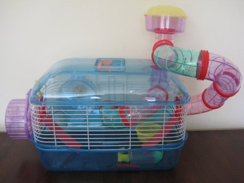 Small Animal Cage, Mixed Translucent Color