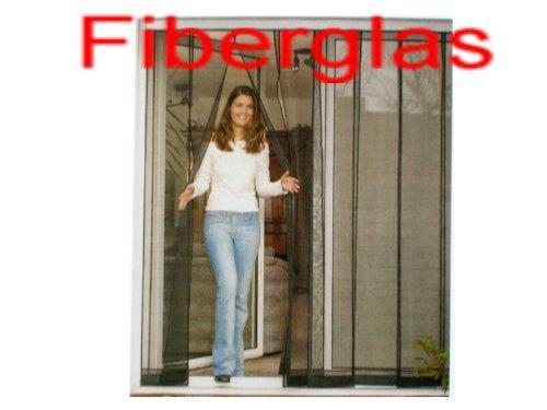 insektenschutzvorhang f r t ren mit fiberglas anthrazit preisvergleich fenster t r. Black Bedroom Furniture Sets. Home Design Ideas