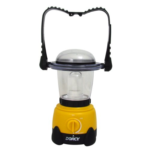 Dorcy 41-3105 Invertible Xenon LED Camping Flashlight Lantern with Hanging Hook, 50-Lumens