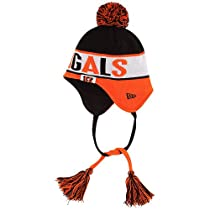 Cincinnati Bengals Crayon Box New Era Tassel with Pom Knit Hat