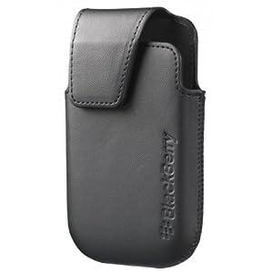 Brightpoint ACC-46596-201 - Funda de piel para BlackBerry Curve 9220/9310/9320, color negro  Electrónica Comentarios de clientes y más información