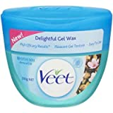 Veet gel wax kit - 350gm LARGE TUB (Sensitive Skin)