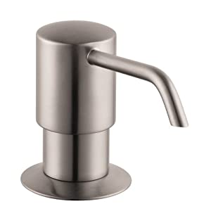 Hansgrohe 04249800 E S Kitchen Soap Dispenser Steel Optik