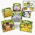 Fun Express Cardboard Zoo Animal Treat Box (Pack of 12)