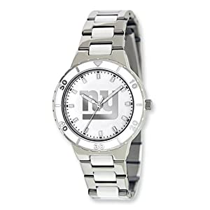 Ladies NFL New York Giants Pearl Watch by Jewelry Adviser Nfl Watches