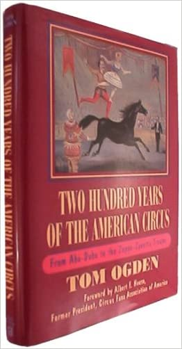 Two Hundred Years of the American Circus: From Aba-Daba to the Zoppe-Zavatta Troupe written by Tom Ogden