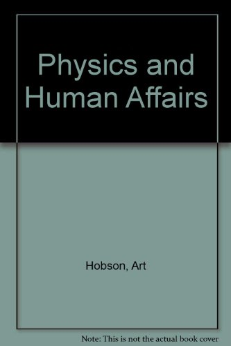 Physics and Human Affairs