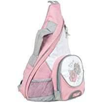 Soft Color Messenger Cross Body Outdoor Biking Backpack - 3 Color Options