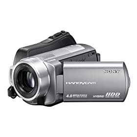 Sony DCR-SR220 4MP 60GB Hard Drive Handycam Camcorder with 15x Optical Image Stabilized Zoom