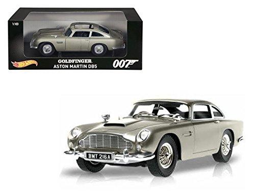 Hot wheels Aston Martin DB5 Silver James Bond 007 From