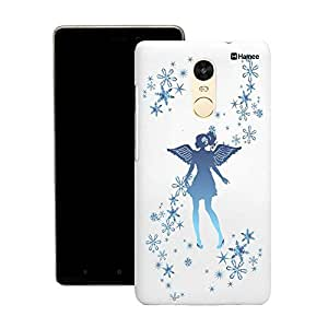 Customizable Hamee Original Designer Cover Thin Fit Crystal Clear Plastic Hard Back Case for Motorola Moto X Play (Blue standing fairy)
