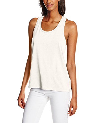 VILA CLOTHES Vihonesty SL, Tank Top Donna, Bianco (Snow White), M