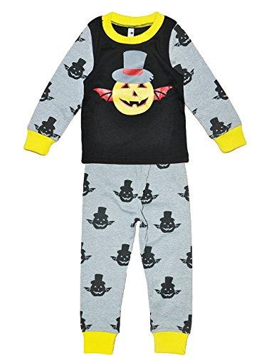 Tkria Bambino Ragazzi Halloween a maniche lunga Pigiama Zucca fantasma 1-6 anni 83-116