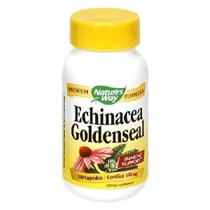 Nature's Bounty Echinacea Goldenseal Plus.