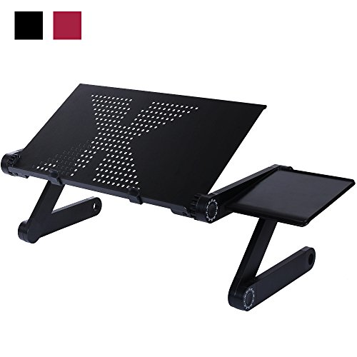 aluminium verstellbar tragbarer faltbarer laptop computer. Black Bedroom Furniture Sets. Home Design Ideas