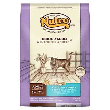 Nutro indoor cat cat food