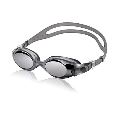 Speedo 7500629 Unisex Hydrosity Mirrored, Charcoal, OS